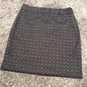 Nearly new Banana Republic black skirt.